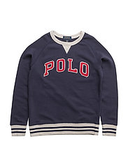 Cotton French Terry Sweatshirt - NEWPORT NAVY