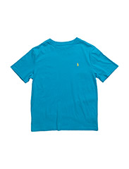 Cotton Jersey Crewneck Tee - HAWAIIAN OCEAN