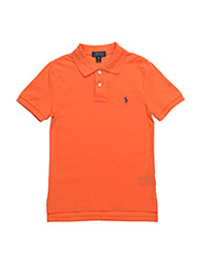 Custom Fit Cotton Mesh Polo - ELECTRIC MELON