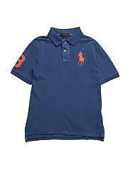 Cotton Mesh Polo Shirt - SPORTING BLUE