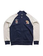 Cotton Atlantic Terry Jacket - FRESCO BLUE