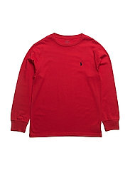 BASIC TEE-TOPS-T-SHIRT - RL2000 RED