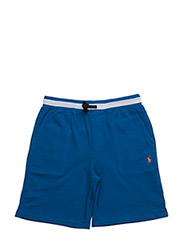 COTTON FRENCH TERRY SHORT - CRUISE ROYAL