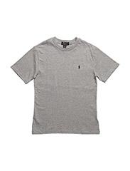 Cotton Jersey Crewneck T-Shirt - ANDOVER HTHR