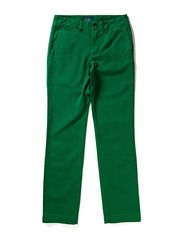 EU SKINNY FIT PANT W SLANT PKT - ENGLISH GREEN