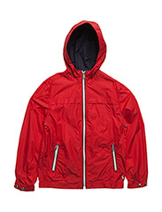 Packable Jacket - BRILLIANT RED