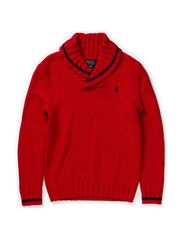 LSL  SHAWL COLLAR  PP - MARTIN RED