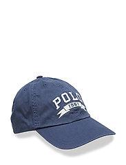 Cotton Chino Baseball Cap - FRESCO BLUE
