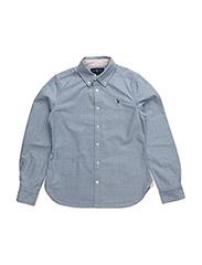 Cotton Oxford Shirt - BSR BLUE