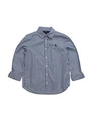 LSL BENGAL SHIRT - BLUE/WHITE