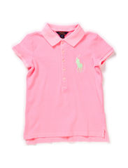 SSL SS POLO BIG PP - FROSTED NEON PI
