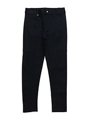 KNIT PANT LOGO - AVIATOR NAVY