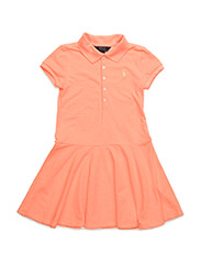 SSL MESH DRESS - FLO BEACH MELON