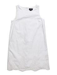 SLS LACE DRESS - WHITE