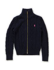 LSL  ZIP MOCKNECK  PP - HUNTER NAVY