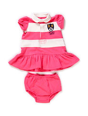 SSL RUGBY DRESS PP - DESERT PINK