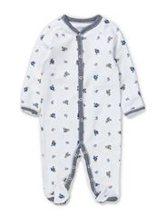 BEAR COVERALL - WHITE MULTI W F
