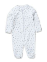 BLOCK COVERALL - WHITE MULTI W P