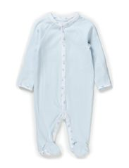 SOLID COVERALL - PEARL BLUE