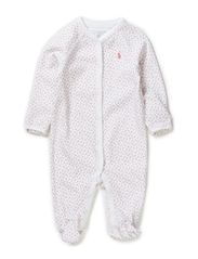 COVERALL - WHITE MULTI