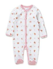 BEAR COVERALL - WHITE MULTI W P