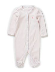 SOLID COVERALL - DELICATE PINK
