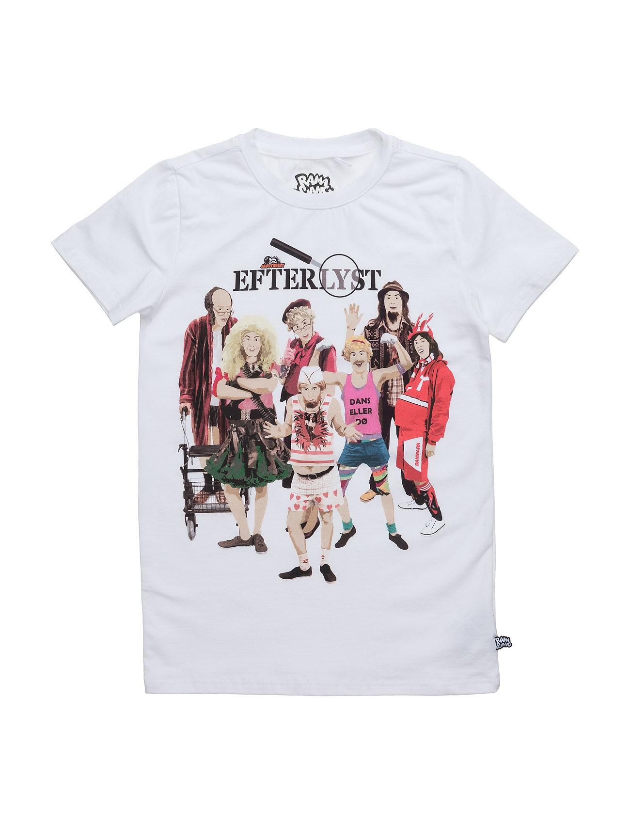 Kristian Skurke T Ramasjang Kluns by Green Cotton Kortærmede t-shirts til Børn i hvid