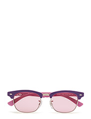 CLUBMASTER JUNIOR - TOP VIOLET ON PINK-PINK MIRROR SILVER GRADIENT