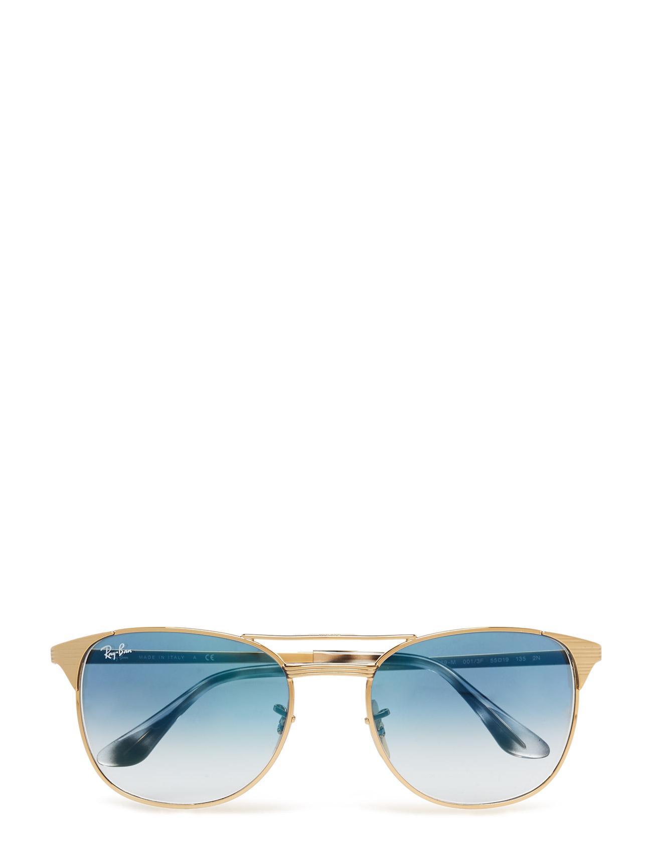 Icons Ray-Ban Solbriller til Mænd i Guld