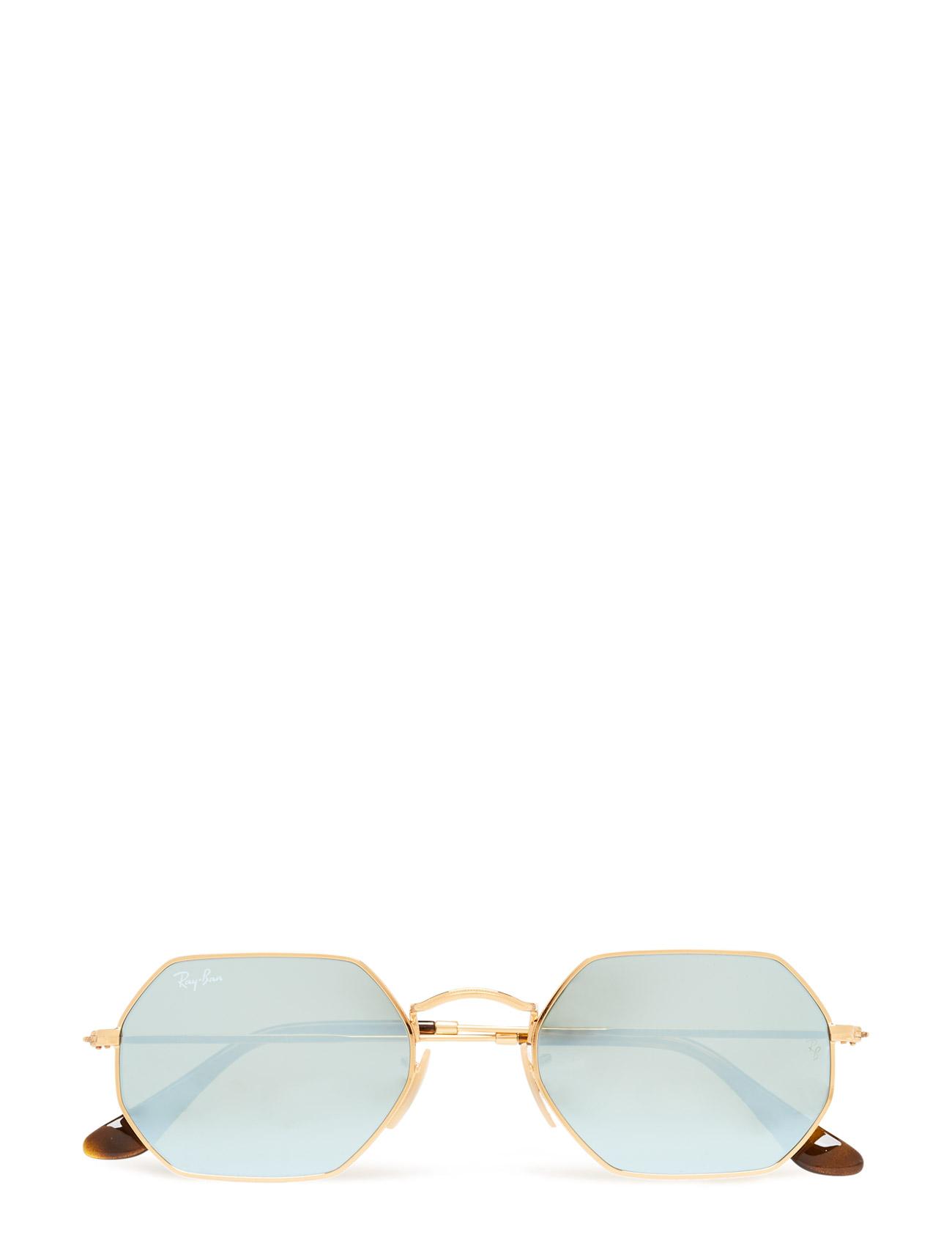 Round Frame Ray-Ban Solbriller til Herrer i