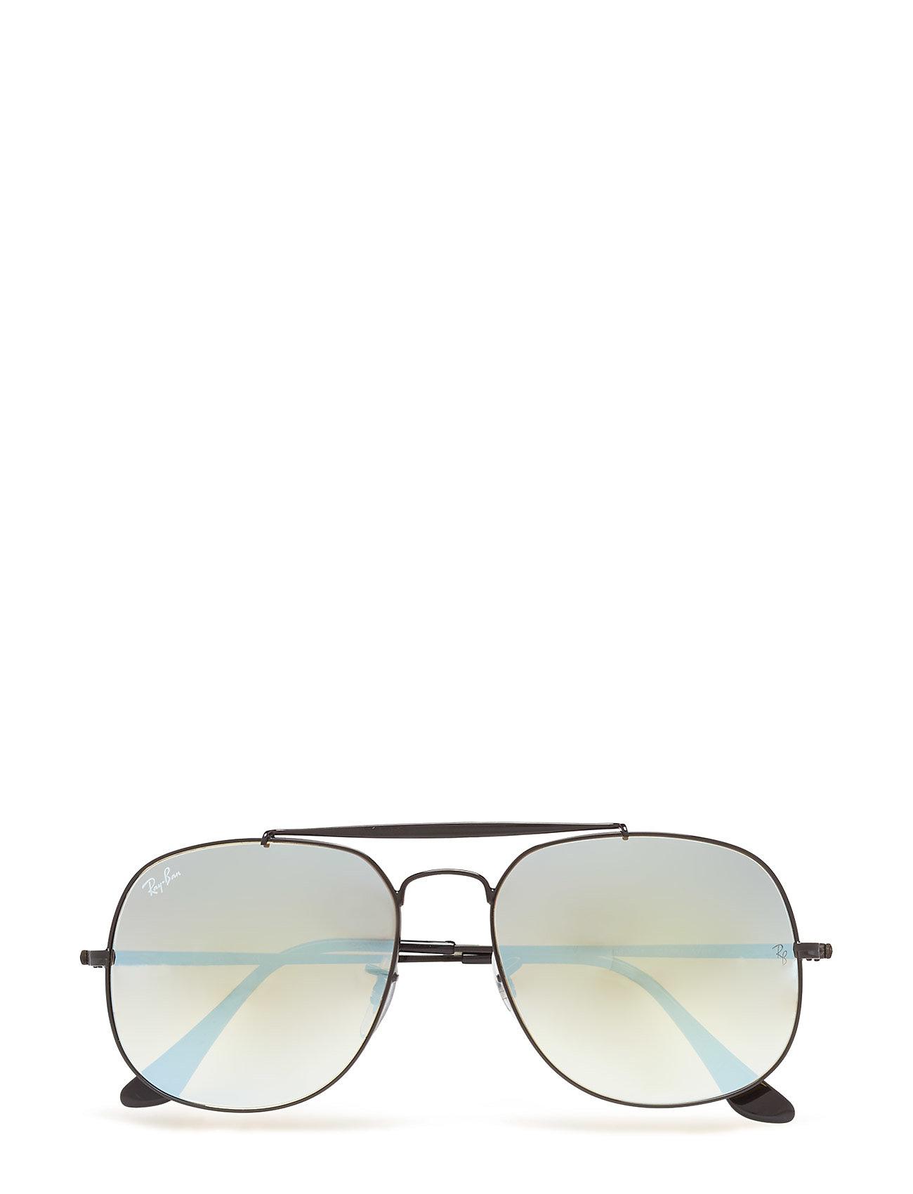 D-Frame Ray-Ban Solbriller til Herrer i Sort