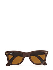 WAYFARER LEATHER - BROWN LEATHER USED-POLAR NEOPHAN BROWN