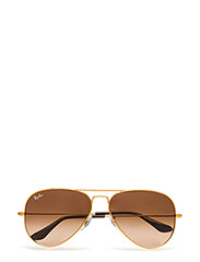 AVIATOR LARGE METAL - SHINY LIGHT BRONZE