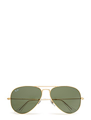 AVIATOR LARGE METAL - GOLD-GREY GREEN