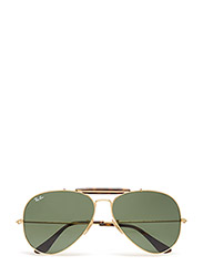 OUTDOORSMAN II - GOLD-DARK GREEN