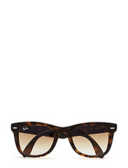 FOLDING WAYFARER - LIGHT HAVANA-CRYSTAL BROWN GRADIENT