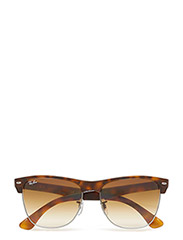 CLUBMASTER OVERSIZED - DEMI SHINY HAVANA/GUNMETAL-CRYSTAL BROWN GRADIENT