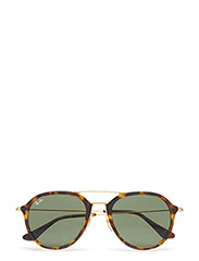 D-frame - LIGHT HAVANA/GREEN