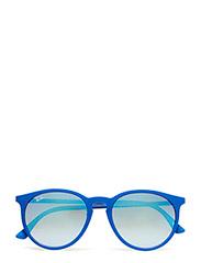 Round frame - SHINY BLUE