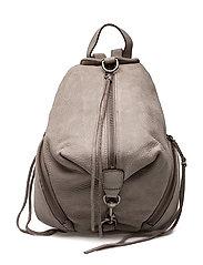 Medium Julian Backpack - GREY / ANTIQUE SILVER