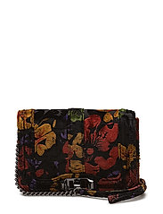 Small Love Crossbody - 958 FLORAL VELVET /  GUNMETAL
