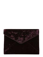 Leo Clutch - 610 DARK CHERRY /  BLACK