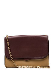 Mini Chain Crossbody - 786 BUTTER CALF /  BRASS GOLD