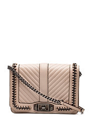 Small Love Crossbody - NUDE / GUNMETAL