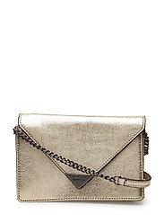 Molly Crossbody - LIGHT GOLD / GUNMETAL