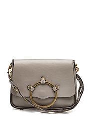 Ring Shoulder Bag - TAUPE / ANTIQUE BRASS