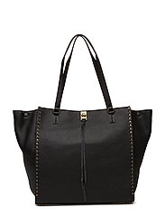 Darren Tote - 001 BLACK / ANTIQUE BRASS