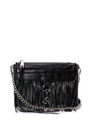 FRINGE MINI MAC - BLACK