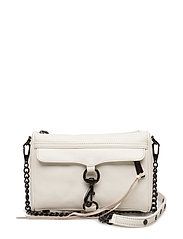 Mini Mac Smooth Leather - ANTIQUE WHITE/BLACK