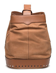 Mission Sling Backpack - ALMOND/SILVER